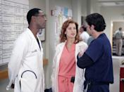 <p>Kate Walsh made her first appearance as Derek Shepherd's ex-wife, Dr. Addison Montgomery in <em>Grey's Anatomy s</em>eason 1. </p>
