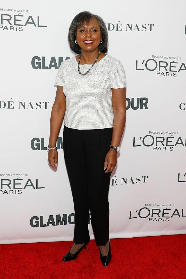Anita Hill attends the 2017 <em>Glamour</em> Women of the Year Awards at Kings Theatre on Nov. 13, 2017, in Brooklyn. (Photo: Taylor Hill/FilmMagic)