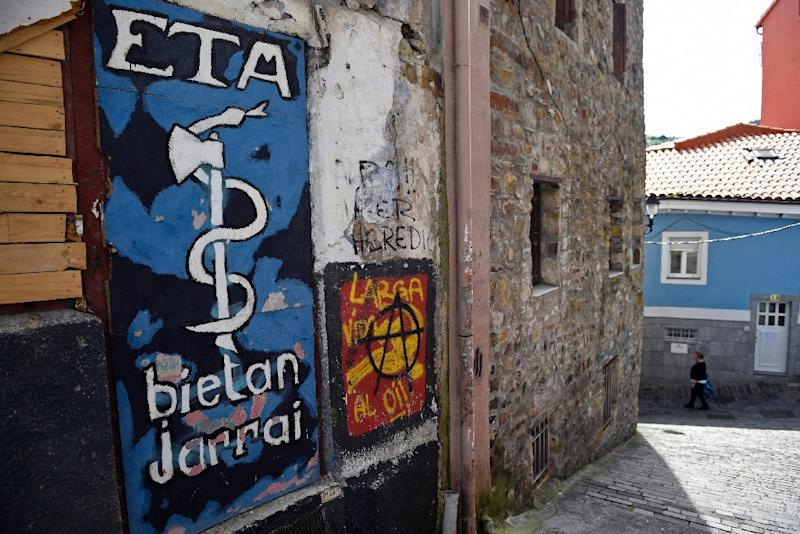 ETA, founded in 1959, says it has ended on its armed campaign for a Basque homeland (AFP Photo/Ander GILLENEA)
