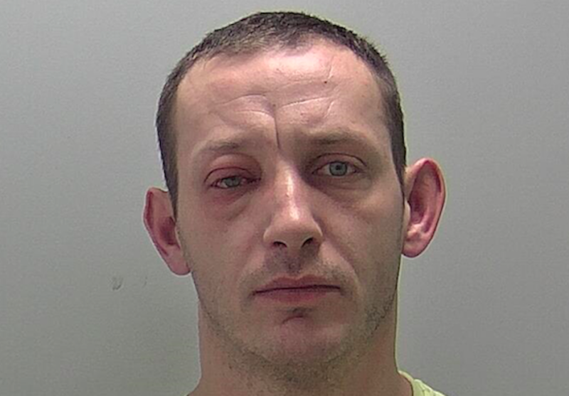 Pawel Kwik was banned from driving for 22 months (Picture: Warwickshire Police)