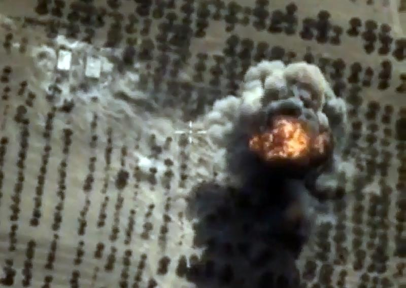 Russia launched its Syrian air campaign on September 30 (AFP Photo/)