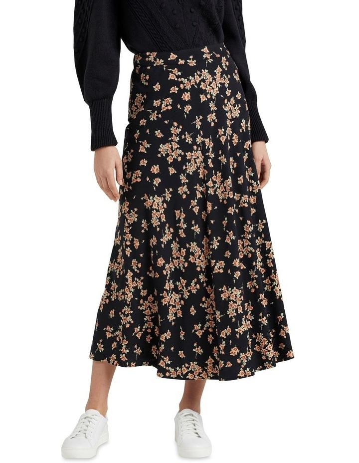 French Connection Vintage Floral Midi Skirt