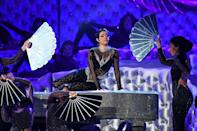 Cardi B, shown here performing at the 2019 Grammys, is among the stars performing again this time around, which the Recording Academy hopes will draw viewers to the mostly virtual show
