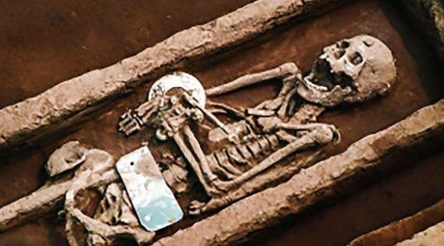 Archaeologists have unearthed a giant graveyard of unusually tall men in China. Photo: AsiaWire