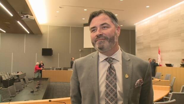 Kieran McKenzie is a City of Windsor councillor and sits on the board for the Essex-Windsor Solid Waste Authority.
