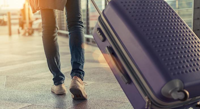 In need of a new suitcase? We've found a bargain with a slew of five-star reviews. [Photo: Getty]