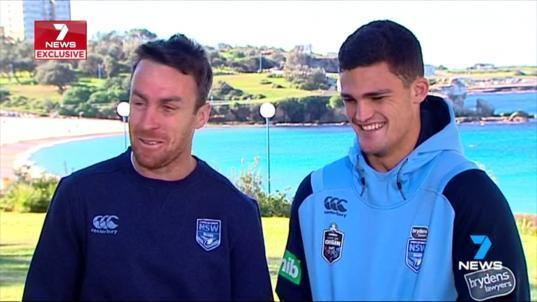 NSW can wrap up the State of Origin series on Sunday with a win at ANZ Stadium. James Maloney and Nathan Cleary are key to the Blues strategy.