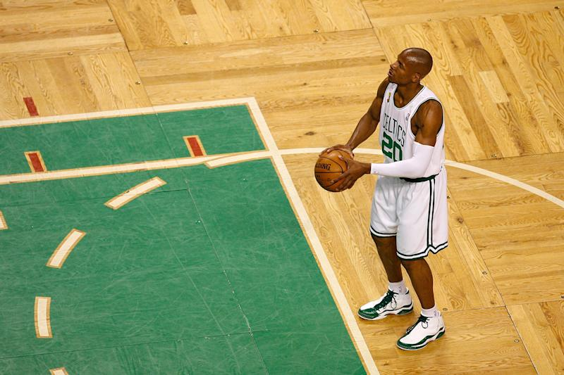 Image result for Doc Rivers Says He Tried to Call Ray Allen During Free Agency, But Allen Never Picked Up