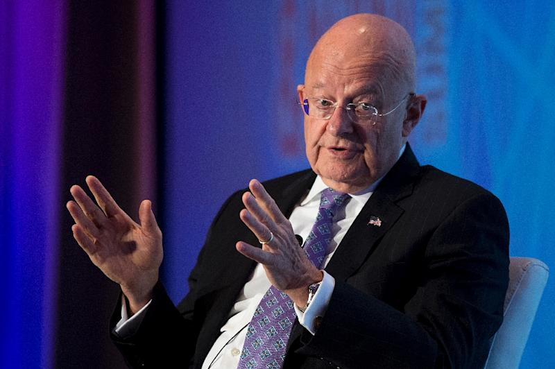 In May, then US National Intelligence Director James Clapper warned of cyberattacks against the US election campaigns, without specific reference to any source (AFP Photo/Jim Watson)