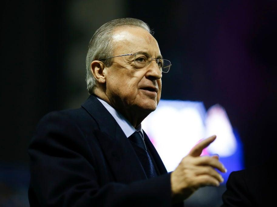 Real Madrid president Florentino Perez has been a key backerGetty Images