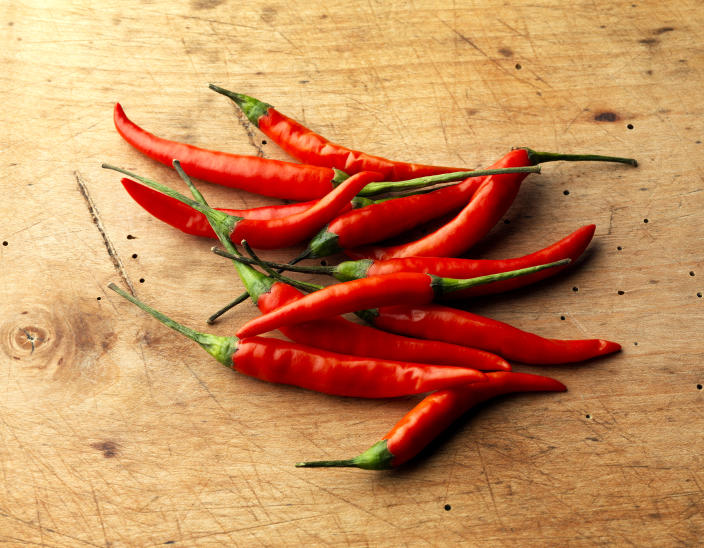 Chili peppers have significant cardiovascular benefits. (Photo: Getty Images)