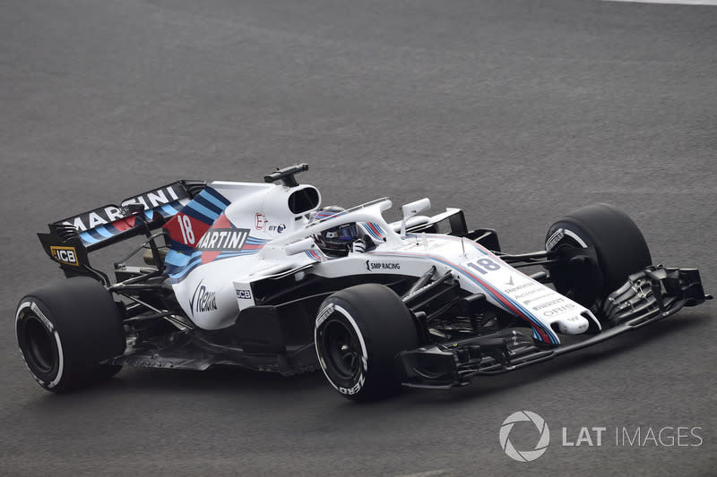 """Lance Stroll, Williams FW41<span class=""""copyright"""">Sutton Motorsport Images</span>"""