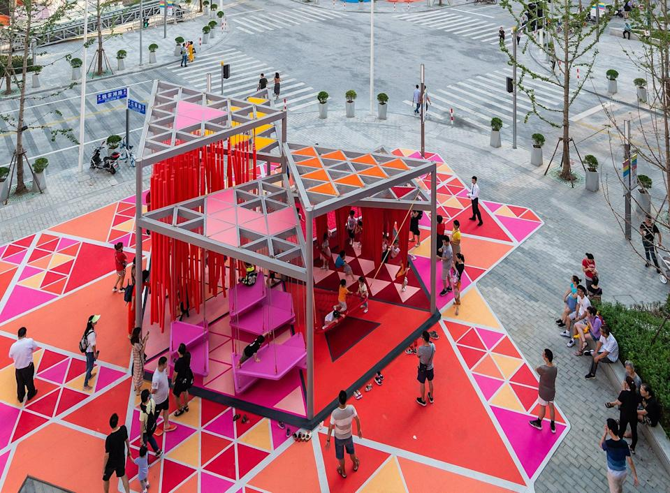 100 Architects' colorful
