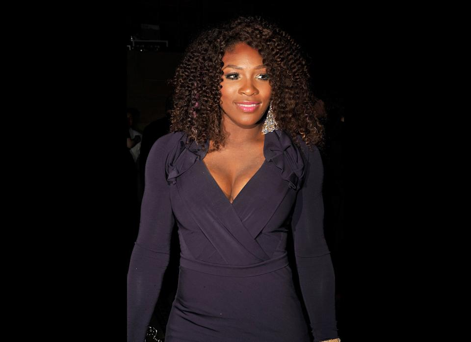 Looking her plum best at the New Yorkers for Children Fall Gala at Cipriani 42nd Street in New York City.