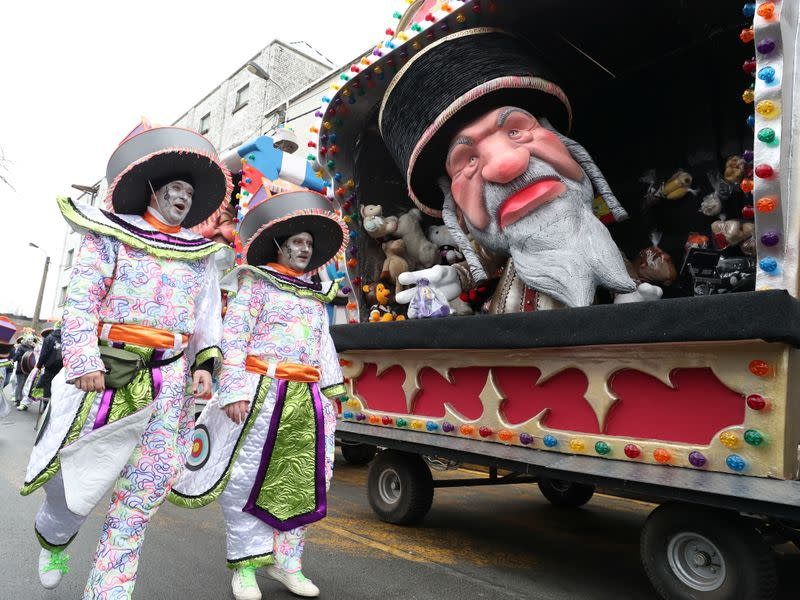 Belgian carnival defies calls to cancel parade with Jewish caricatures