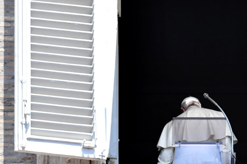 Pope Francis - shown here at the Vatican on July 22 -- last month accepted the resignation of five Chilean bishops amid accusations of abuse and related cover-ups