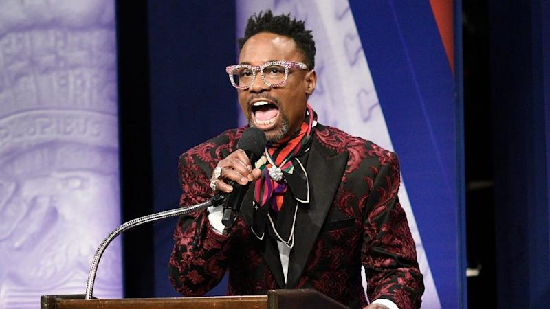 Billy Porter and Lin-Manuel Miranda Make Epic 'Saturday Night Live' Cameos in CNN Town Hall Cold Open