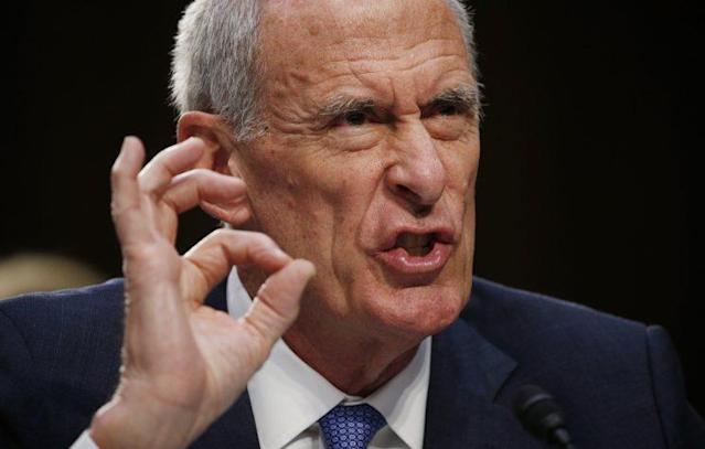 Director of National Intelligence Daniel Coats testifies at a Senate Intelligence Committee hearing on his interactions with the Trump White House and on the Foreign Intelligence Surveillance Act (FISA) in Washington, D.C., June 7, 2017. (Photo: Kevin Lamarque/Reuters)