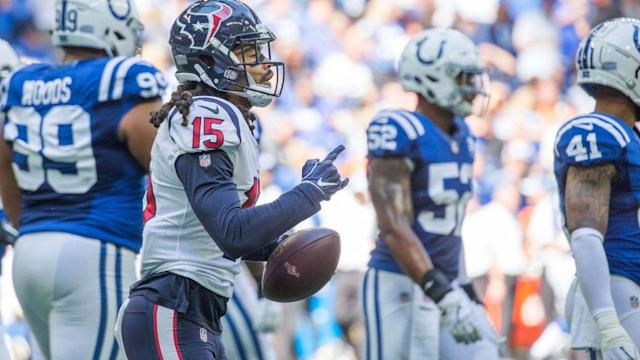 Texans looking at the near-future by resting Will Fuller, Bradley Roby vs. Ravens
