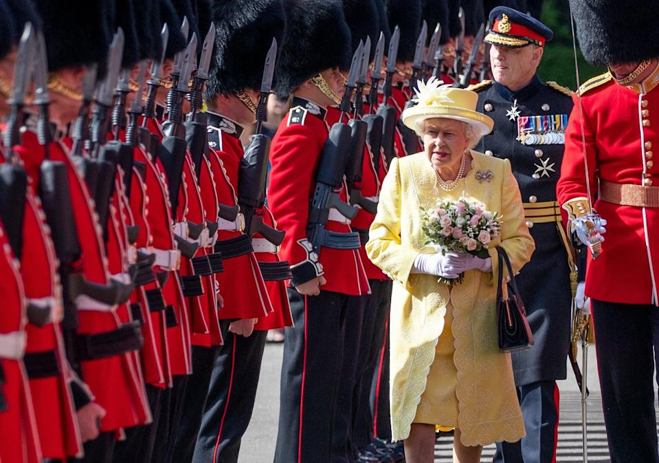 The Queen will be in Scotland next week when her grandsons Harry and William reunite  (PA Archive)