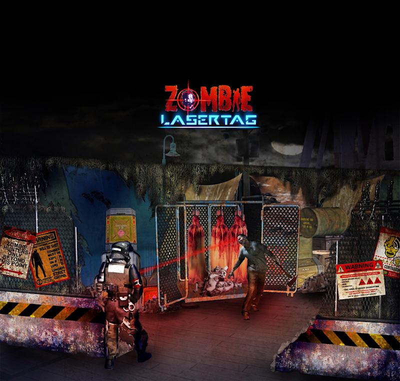 Zombie laser tag' coming to this year's Halloween Horror Nights