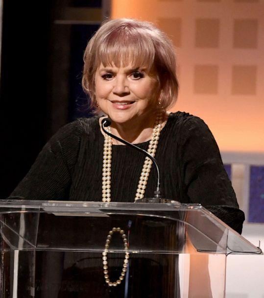 PHOTO: Linda Ronstadt accepts Best Documentary for 'Linda Ronstadt: The Sound of My Voice' onstage during AARP The Magazine's 19th Annual Movies For Grownups Awards at the Beverly Wilshire hotel on Jan. 11, 2020, in Beverly Hills, Calif. (Kevin Winter/Getty Images, FILE)