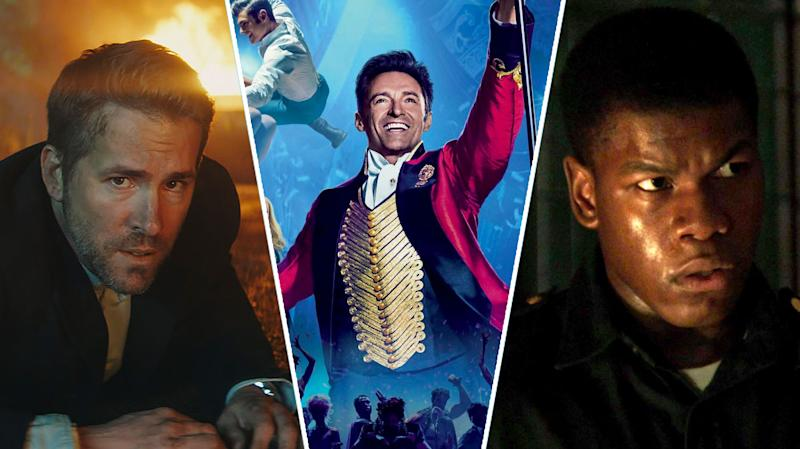 The Hitman's Bodyguard, The Greatest Showman, Detroit.