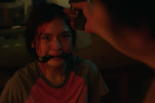 Francine Diaz plays a troubled teen in the thriller by director Rae Red