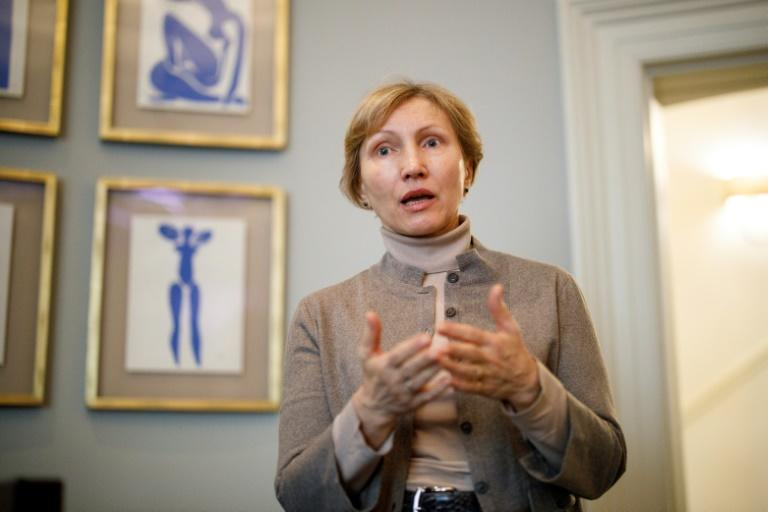 The court ordered Moscow to pay 100,000 euros in damages to Marina Litvinenko, who brought the case (AFP/Tolga AKMEN)