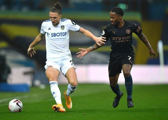 City and Leeds played out a 1-1 draw at Elland Road in October