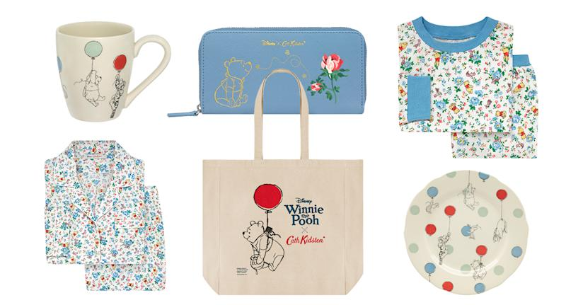 The Cath Kidston x Winnie the Pooh collection has landed online [Photo: Courtesy]
