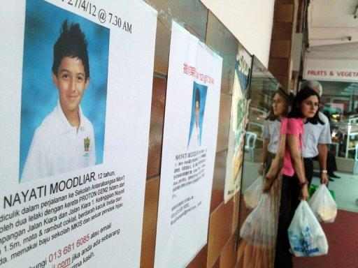 The kidnapping of a Dutch boy in Malaysia has triggered a media campaign by his parents