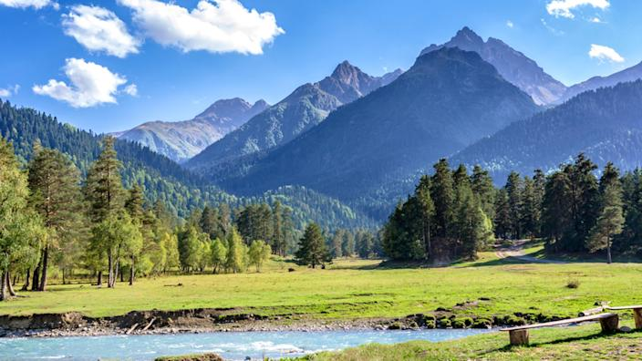 family vacations with baby or toddler: mountains (Shutterstock / Sorokin Alexandr)