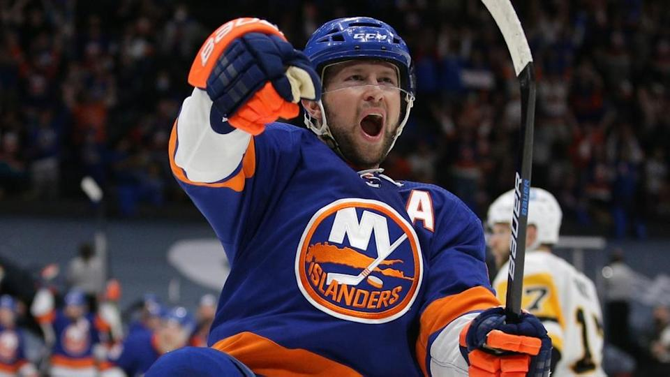 Josh Bailey fired up after Game Four goal vs. Penguins