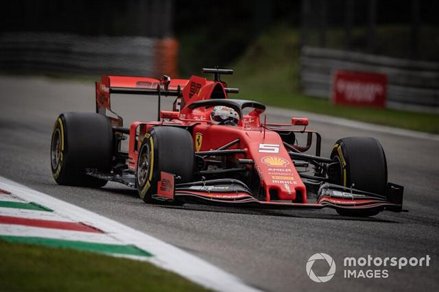"Sebastian Vettel, Ferrari SF90 <span class=""copyright"">Simon Galloway / Sutton Images</span>"