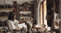 "<p>Dan Leş' work brings out stories and legends from clay as he adds a traditional Romanian spirit to his pottery – that's what makes it special. It's best to see for yourself, so here's a little teaser video wonderfully put together by a young, talented filmmaker Matei Plesa: <a href=""https://www.youtube.com/watch?v=3dT2nFigxRk"" rel=""nofollow noopener"" target=""_blank"" data-ylk=""slk:https://www.youtube.com/watch?v=3dT2nFigxRk"" class=""link rapid-noclick-resp"">https://www.youtube.com/watch?v=3dT2nFigxRk</a> </p>"