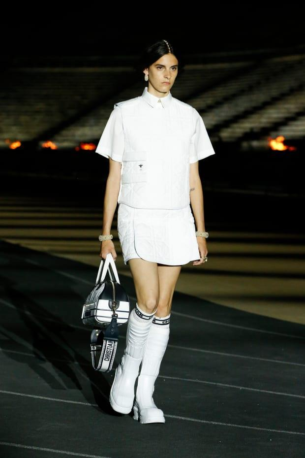 <p>A look from Dior's Resort 2022 collection. Photo: Courtesy of Dior</p>