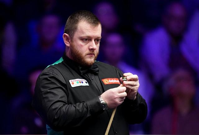 Mark Allen is dreading having to play in front of an empty Crucible (John Walton/PA)