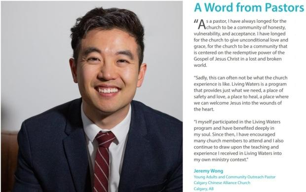 Jeremy Wong/Facebook, Living Waters Canada Annual Report 2013
