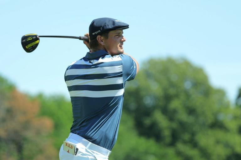 American Bryson DeChambeau finished with three straight birdies to win the Rocket Mortgage Classic on Sunday in Detroit