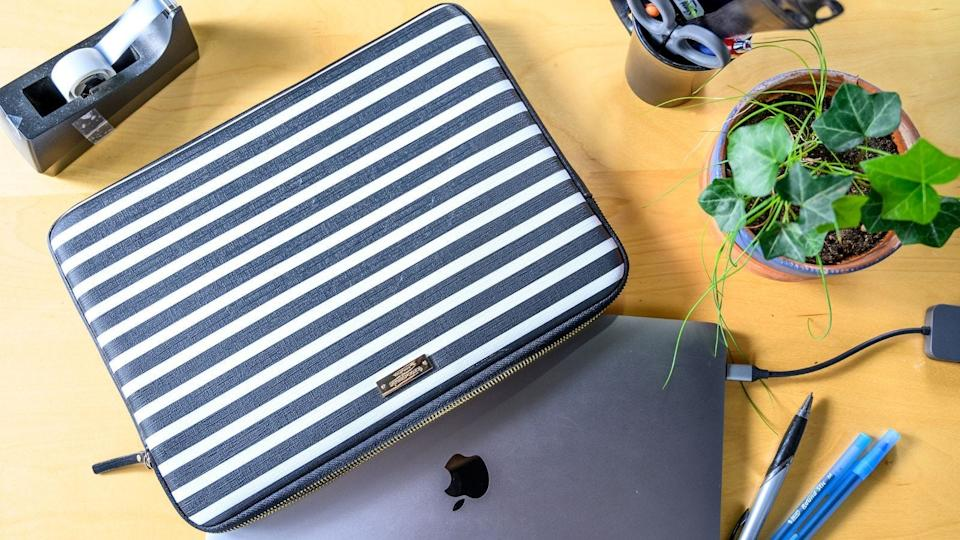 The best gifts for travelers: Kate Spade Laptop Sleeve
