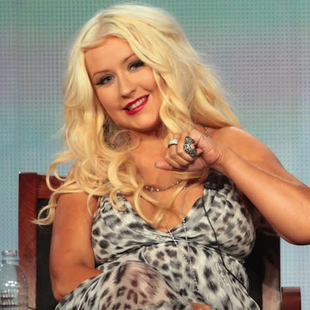 Christina Aguilera: Spears is gifted
