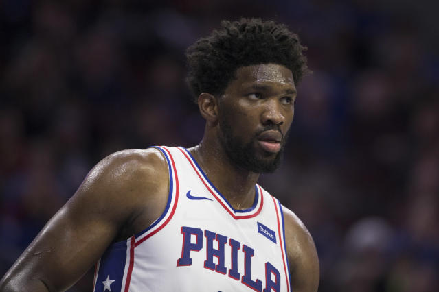 Injury and tragedy almost convinced Joel Embiid to quit the NBA before his playing career even started. (Getty)