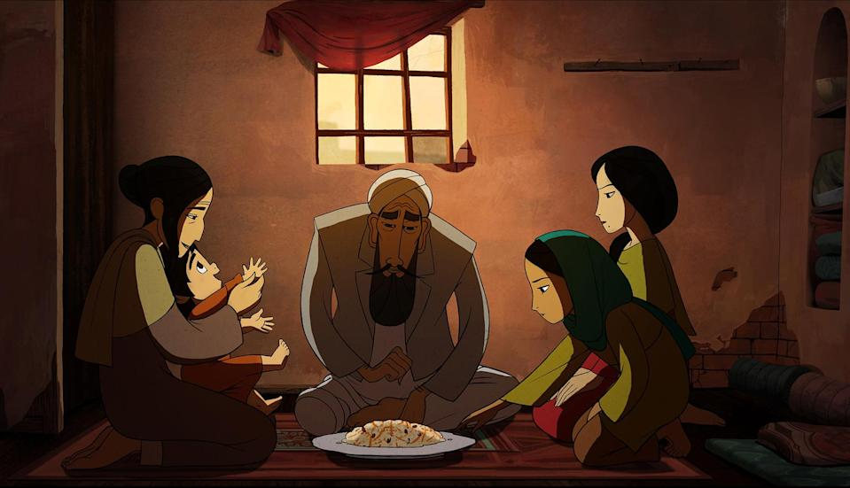 <p>For her follow-up to 2009's <em>The Secret of Kells</em> (which she co-helmed), director Nora Twomey tackles Islamic misogyny with this poignant animated tale about a young Afghanistan girl who, after her father is arrested and imprisoned by the Taliban, must dress as a boy to provide for her family. It's a powerful saga of intolerant oppression and feminist rebellion, rendered via vibrant, evocative visuals that bring its adult material to full-bodied life. <em>— N.S. </em>(Photo: Everett Collection) </p>