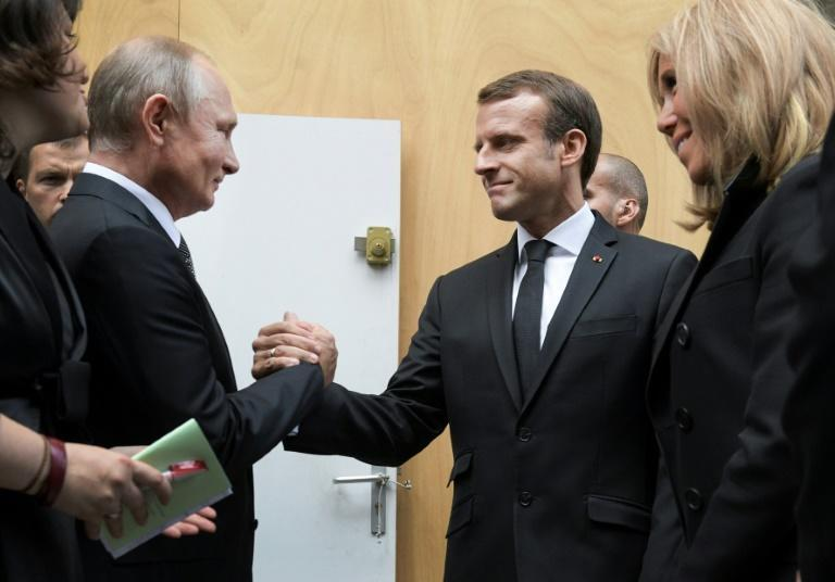 Putin and Zelensky will join Macron and Merkel for a four-way summit in Paris (AFP Photo/Alexei Druzhinin)