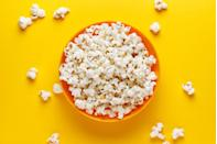 <p>Air-popped or lightly oil-popped popcorn is a fantastic choice to satisfy that crunchy snack craving. <strong>I</strong><strong>t's also one of the world's most popular sources of dietary fiber and is full of healthy polyphenols.</strong></p>