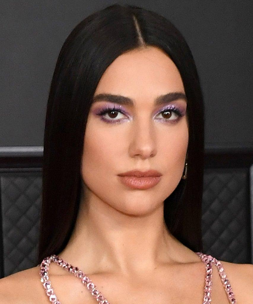 LOS ANGELES, CALIFORNIA – MARCH 14: Dua Lipa attends the 63rd Annual GRAMMY Awards at Los Angeles Convention Center on March 14, 2021 in Los Angeles, California. (Photo by Kevin Mazur/Getty Images for The Recording Academy )