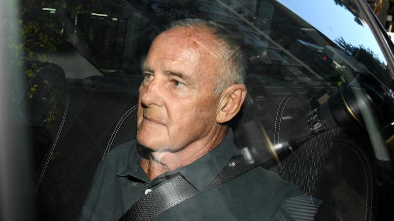 Chris Dawson has faced court via AVL charged with the murder of his wife Lynette Dawson in 1982