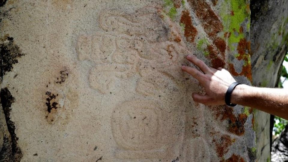 Carvings of animals and figures have been found on stones around the site