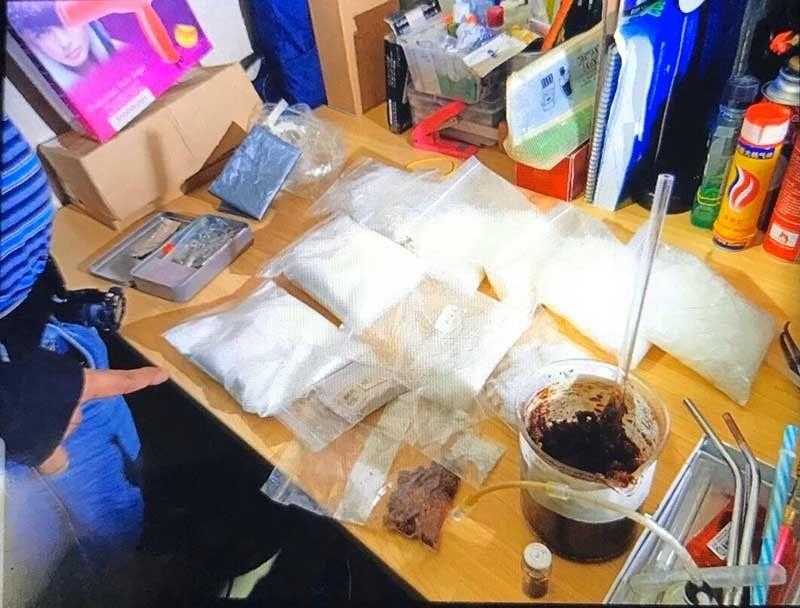 Korean man arrested in 'drug lab' in Quezon City